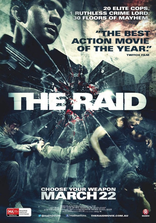 The Raid 2011 Movie Poster